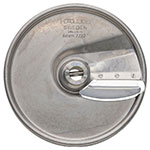 "Hobart 15SLICE-7/32-SS .21"" Fine Slicer Plate for FP150 & FP250 Food Processors Stainless"