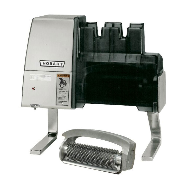 Hobart 403-1 Countertop Meat Tenderizer w/ Knit-Knife Blades, 115v