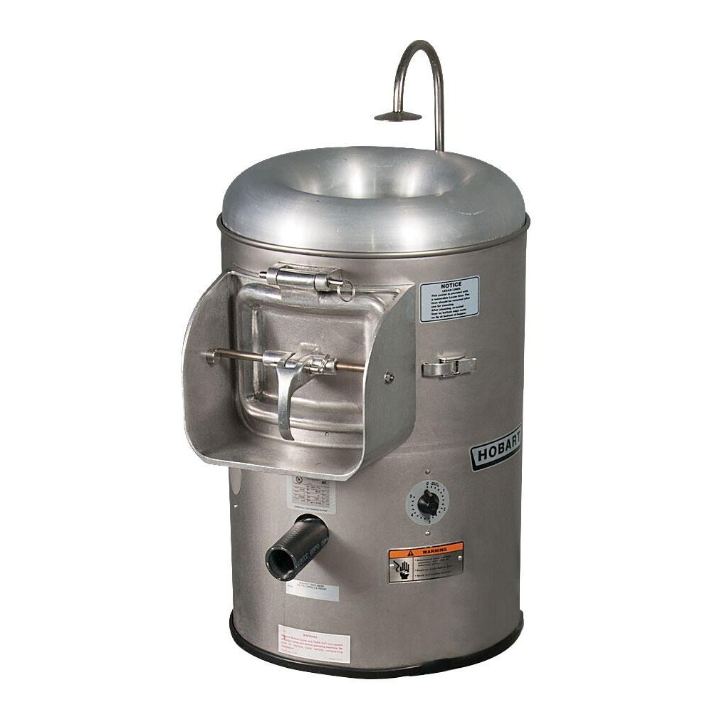 Hobart 6115-2 Portable Vegetable Peeler w/ 15-20-lb Potato Capacity, 230/1 V
