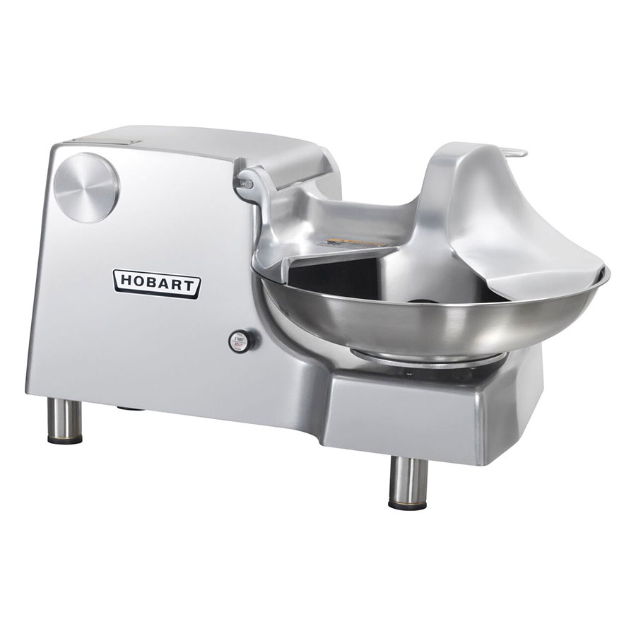 "Hobart 84186-2 Food Cutter w/ 18"" Stainless Bowl & 1-Piece Aluminum Housing"