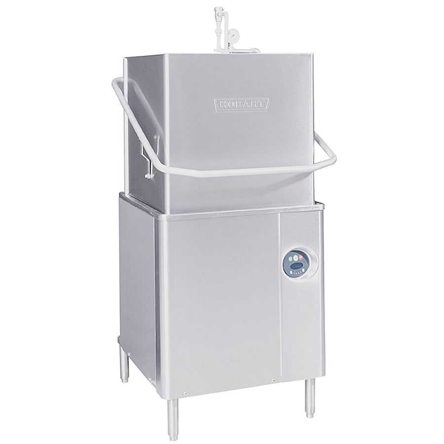 Hobart AM15-5 Electric High Temp Door-Type Dishwasher, 208-240v/1ph