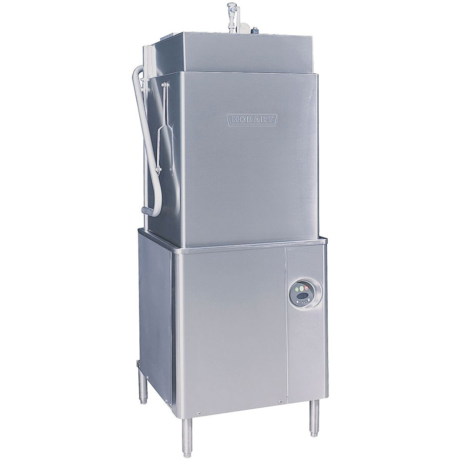 Hobart am t electric high temp door type dishwasher