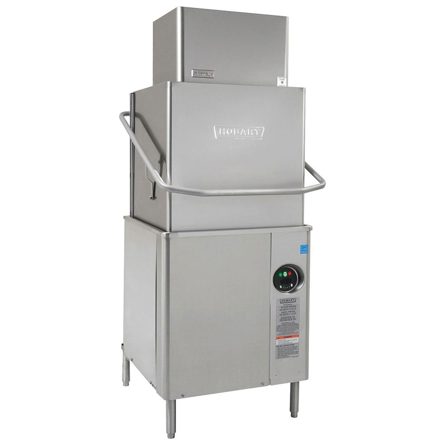 Hobart AM15VL-6 Ventless Door Type Dishwasher w/ Booster Heater, 40-Racks/Hr, 208/1 V