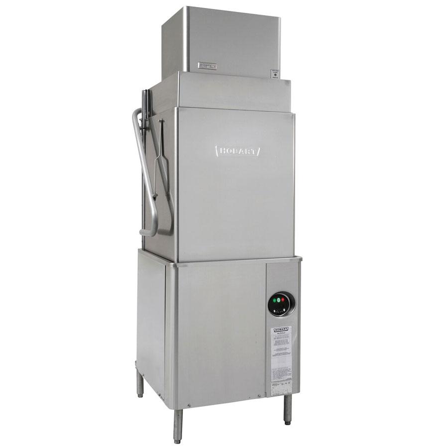 Hobart AM15VLT-2 Electric High Temp Door-Type Dishwasher w/ High Hood, 208-240v/3ph
