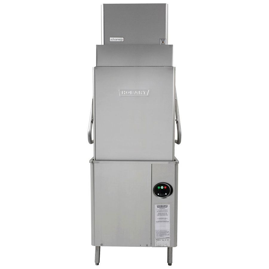 Hobart AM15VLT-6 Electric High Temp Door-Type Dishwasher w/ High Hood, 208-240v/1ph