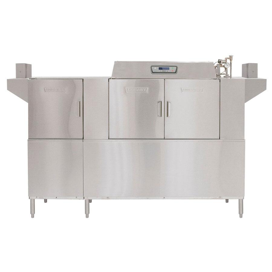 Hobart CLPS86E+BUILDUP Conveyor Dishwasher w/ 2-Tanks & Hinged Doors, 342-Racks/hr
