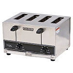"Hobart ET27-4 4-Slice Pop Up Toaster w/ 1"" Wide Slot, 290-Slices/Hr, Stainless"