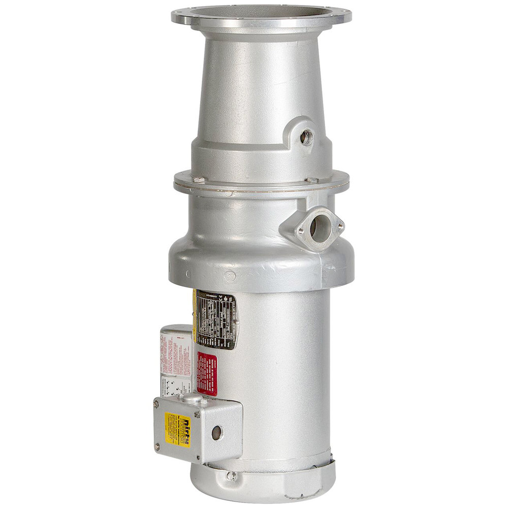 Hobart FD4/125-4 Garbage Disposer w/ Long Upper Housing - 1.25 HP, 120v/280-240v/1ph