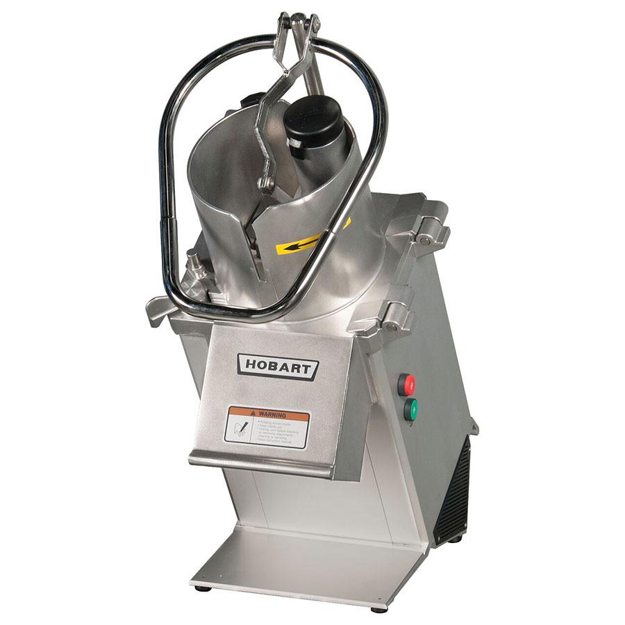 Hobart FP350-1B Food Processor w/ Full Size Hopper & 1-HP Motor, 26-lb/ Minute