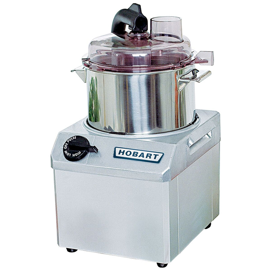 Hobart FP41-1 Food Processor w/ 4-qt Stainless Bowl & 3/4-HP Motor, 120/1 V