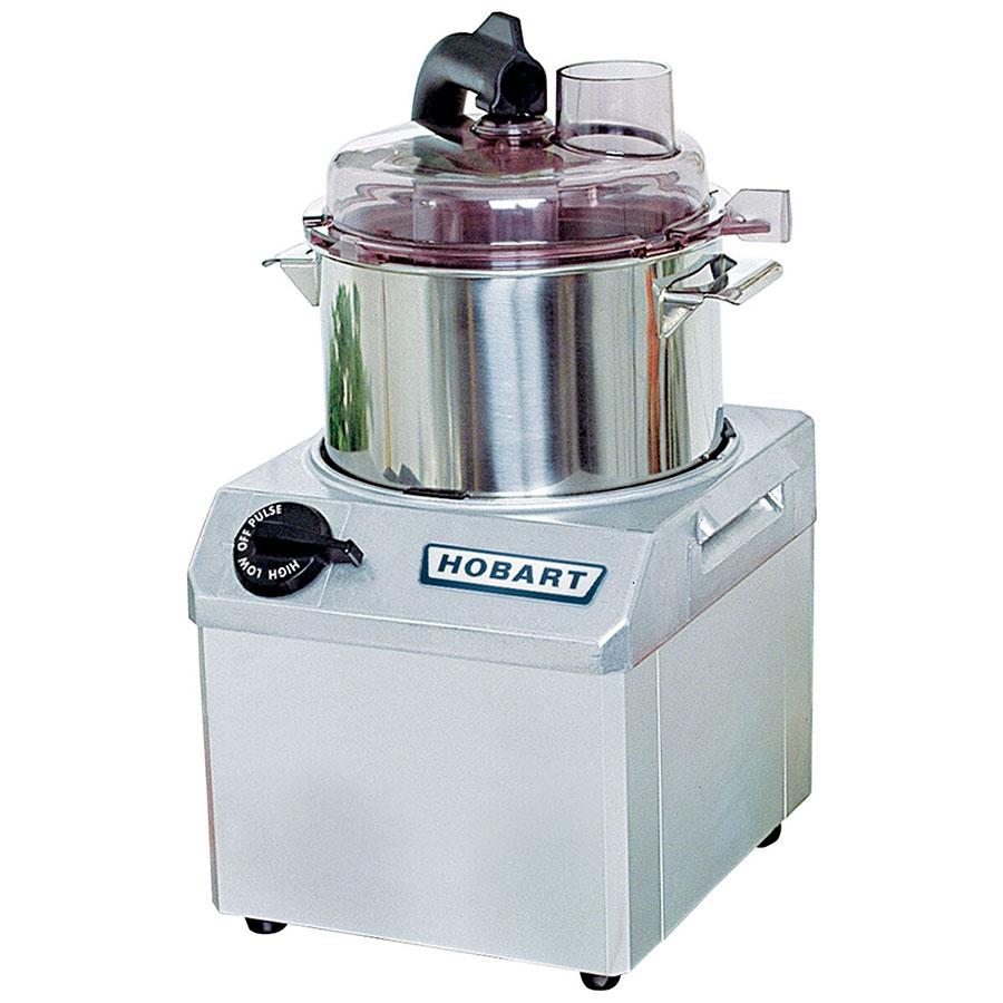 Hobart FP41-1 1-Speed Cutter Mixer Food Processor w/ 4-qt Bowl, 120v