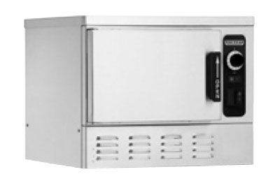 Hobart HC24EA3-3 2401 1-Compartment Countertop Convection Steamer (3)12x20x2.5-in Pan Capacity, 240/1V