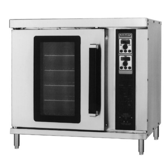 Hobart HEC20-208V Half Size Electric Convection Oven, 208v/1ph
