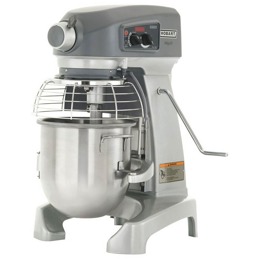 Hobart HL120-40STD 12-qt Planetary Bench Mixer w/ Bowl & Ingredient Chute, 200-240/1 V