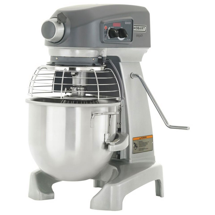 Hobart HL200-50STD 20-qt Planetary Bench Mixer w/ Bowl & Wire Whip, 200-240/1 V