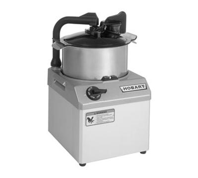 Hobart HCM62-1 Food Processor w/ 6-qt Stainless Bowl & 1.5-HP Motor, 208-240/3 V