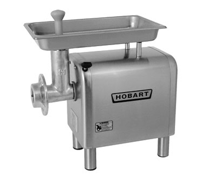 Hobart 482234 Bench Type Meat Chopper w/ 12-20-lb Per Minute Capacity & Stainless Housing