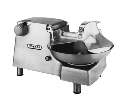 Hobart 84186-38 Food Cutter w/ #12 Attachment Hub & 18-in Stainless Bowl, Export
