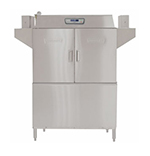 Hobart CL44E-26 Right To Left 30-kW Booster Conveyor Dishwasher, 202-Rack/Hr, 480/3 V