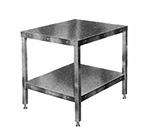 Hobart CUTTER-TABLE3 Table 205025-Model w/ Feet & 1-Shelf for Food Cutters 27x32""