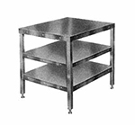 Hobart CUTTER-TABLE4 Table 205026-Model w/ Feet & 2-Shelves for Food Cutters 27x32""