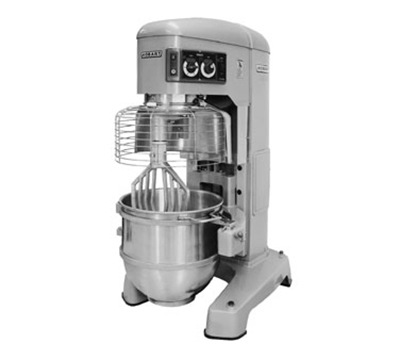 Hobart HL1400-2STD 140-qt Planetary Mixer w/ 4-Fixed Speeds & Stainless Bowl, 380-460/3 V