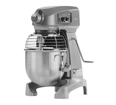 Hobart HL200-2STDDEL 20-qt Planetary Bench Mixer w/ Stainless Bowl & 3-Speeds, 200-240/1 V