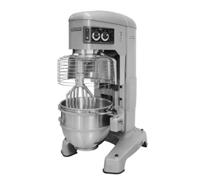 Hobart HL800-70STD 80-qt Planetary Mixer w/ 4-Speeds & Stainless Bowl, Export Voltage