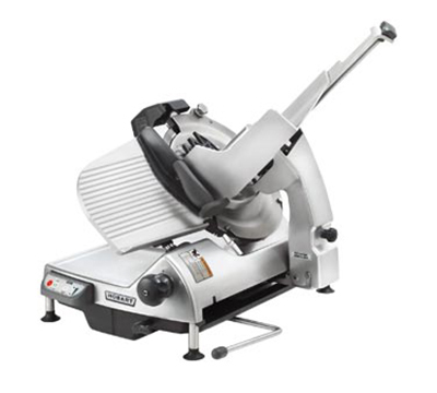 Hobart HS9N-1 Auto Heavy Duty Slicer w/ 13-in Knife & Top Mount Sharpener, Anodized Finish