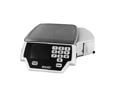 Hobart QUANTM1-1SS Label Printing Scale w/ Self Service Keyboard, 30 x .01-lb