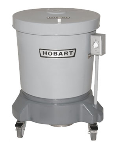 Hobart SDPE-13 20-Gallon Salad Dryer w/ Floor Drain & Polyethylene Shell, Export