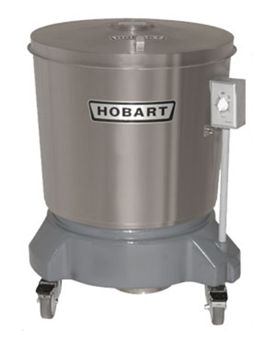 Hobart SDPS-11 20-Gallon Salad Dryer w/ Drain & Stainless Outer Tub, 115/1 V
