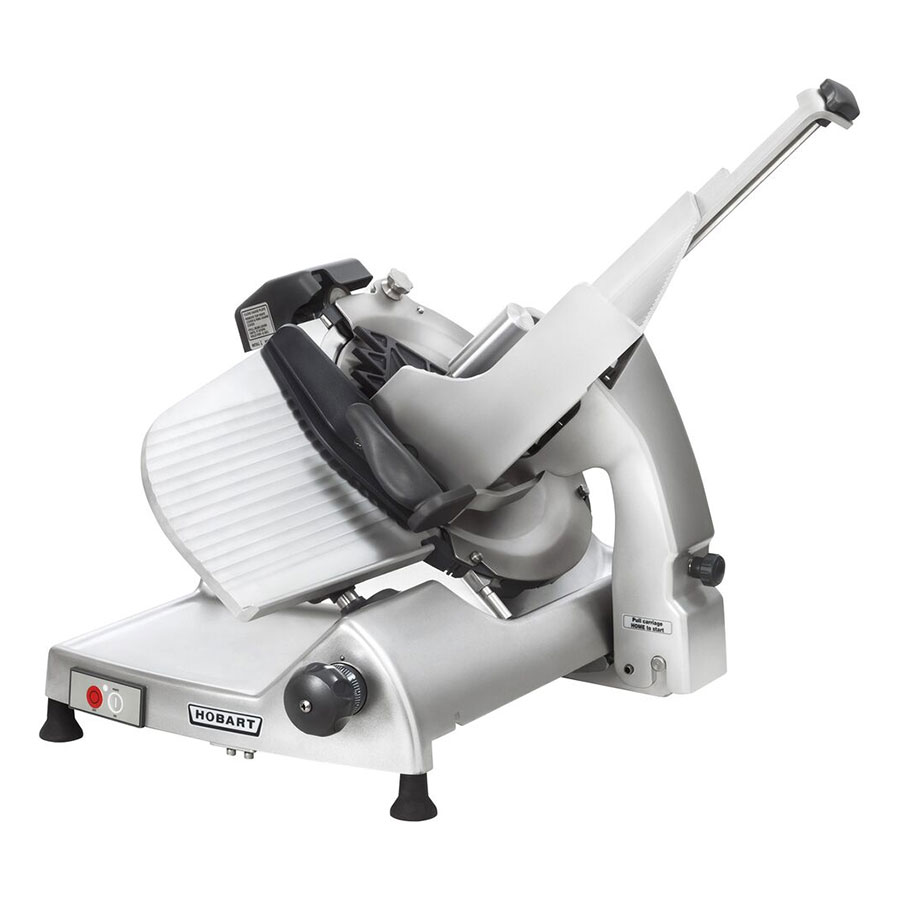 """Hobart HS6-1 Heavy Duty Manual Slicer w/ 13"""" Removable Knife, Tool & Meat Grip Assembly"""