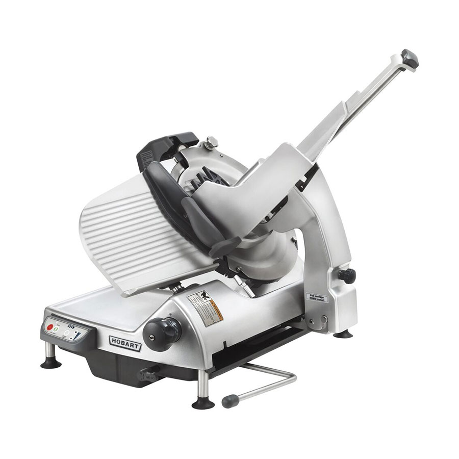 "Hobart HS7-1 Heavy Duty Automatic Slicer w/ 13"" Removable Knife, Tool & Meat Grip Assembly"