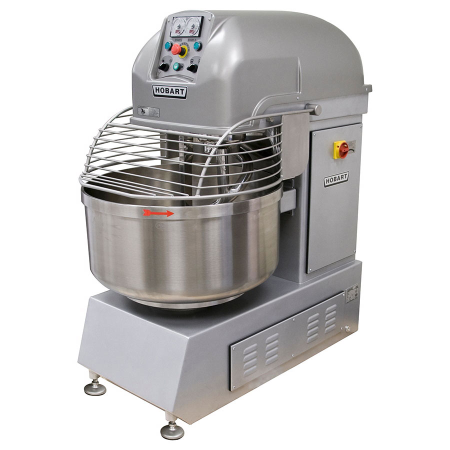 Hobart HSL180-1 180-lb Spiral Mixer w/ Bowl Jog Control & 2-Fixed Speeds, 208/3 V