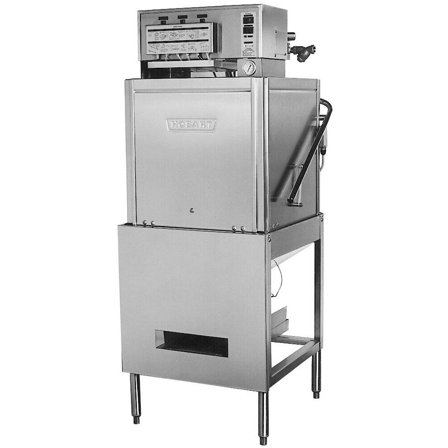 Hobart LT1-1 Door-Type Dishwasher - Low-Temp, 37-Racks/Hr, Stainless