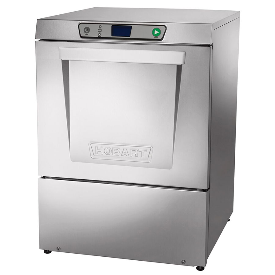Hobart LXEC-3 Low Temp Rack Undercounter Dishwasher - (34) Racks/hr, 120v