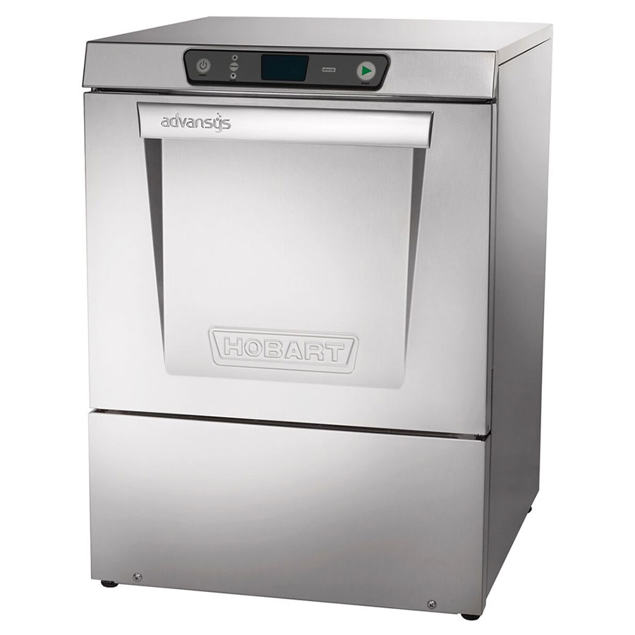 Hobart LXER-2 High Temp Rack Undercounter Dishwasher - (30) Racks/hr, 208-240v/1ph