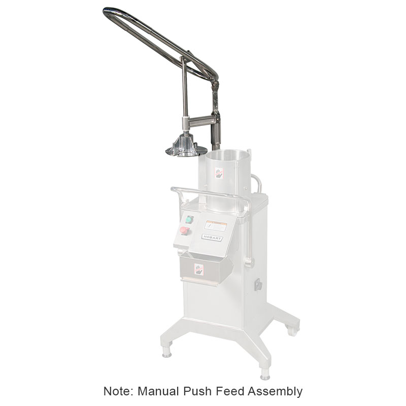 Hobart MNLPFD-HANDLE Manual Push Feed Assembly For FP4001-Model Food Processor