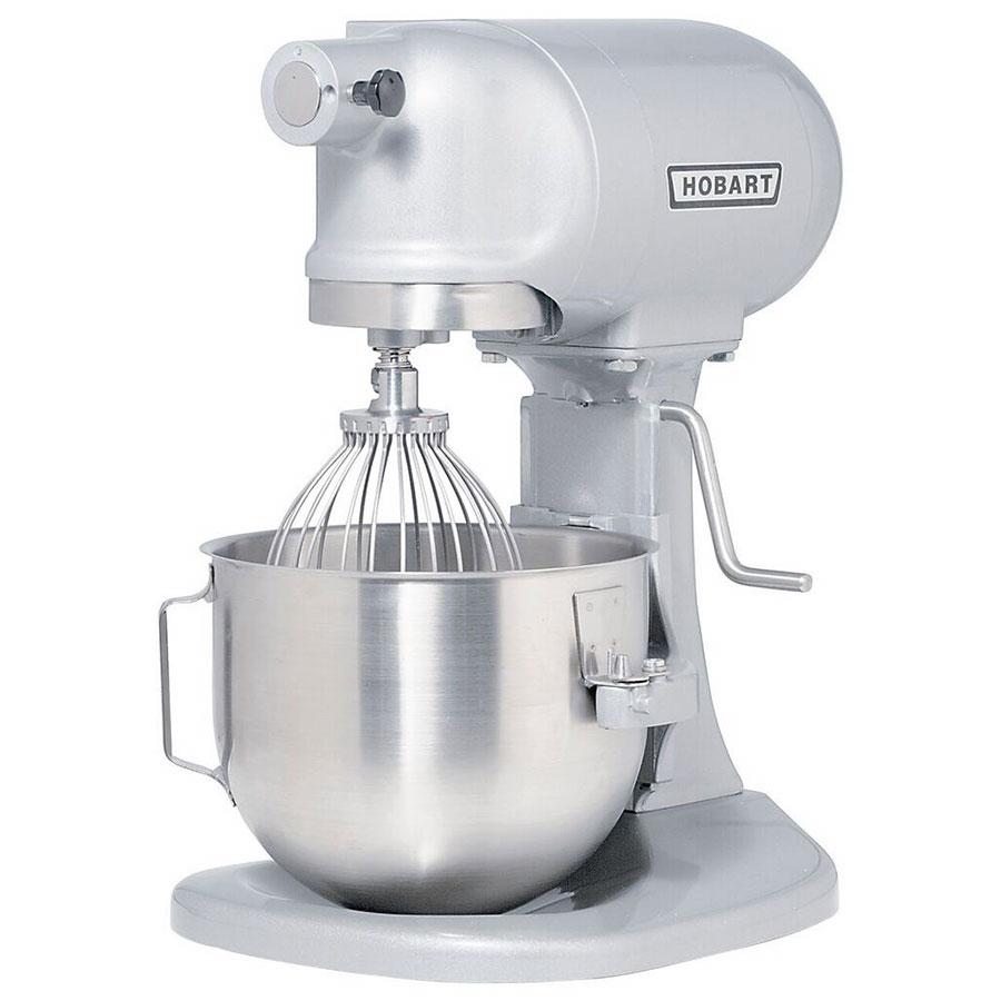 Hobart N50-60 5-qt Planetary Mixer w/ 3-Fixed Speeds & Manual Bowl Lift, 120v/1ph