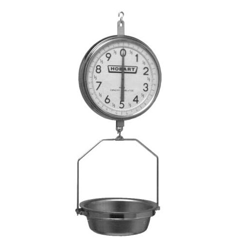 Hobart PR30-1 Hanging Dial Scale w/ 30-lb x 1-oz Capacity