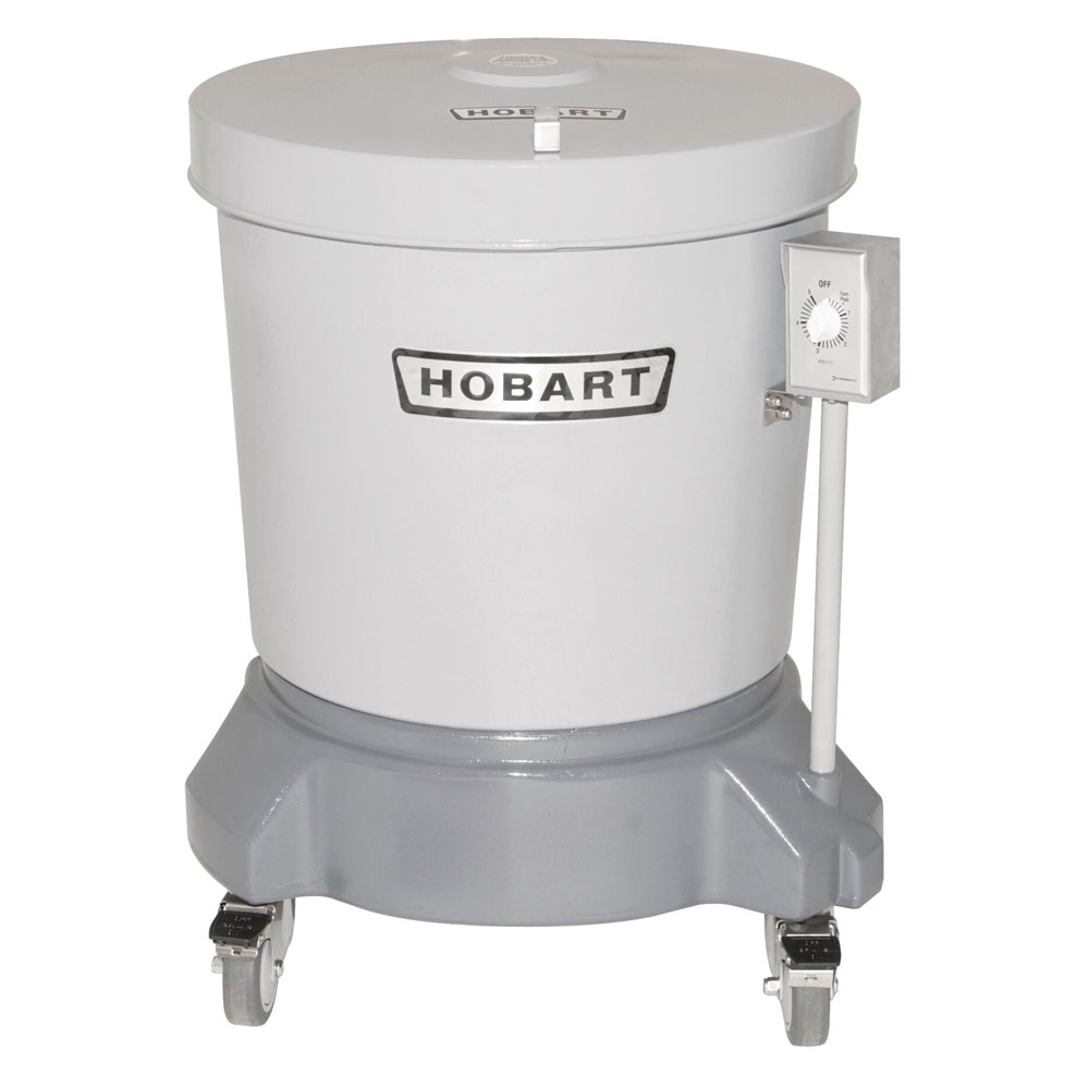 Hobart SDPE-11 20-Gallon Salad Dryer w/ Floor Drain & Polyethylene Shell, 115/1 V