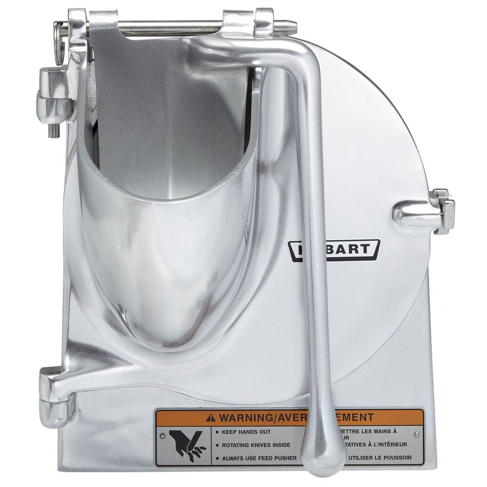 "Hobart VS-912 9"" Vegetable Slicer for #12 Attachment Hub w/ Back Case, Hopper Front & Slicer Plate"