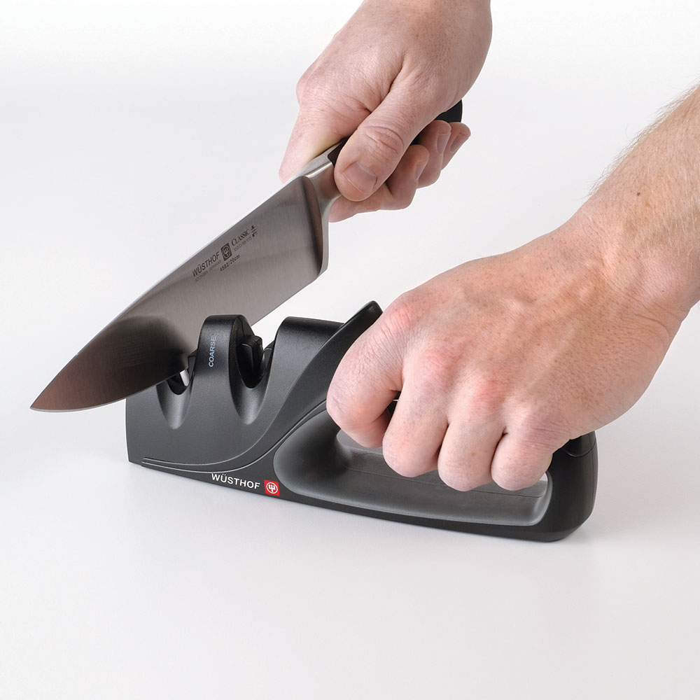 Wusthof 2922-7 2-Stage Handheld Knife Sharpener