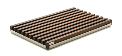 Wusthof 7292 Heat-Treated Bread Board w/ Metal Tray - 40cm x 25cm x 3cm