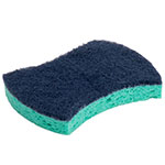 "3M 3000CC Heavy-Duty Power Sponges - 4.5"" x 3"", Dark Blue/Teal"