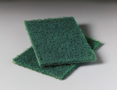 3M 86 Heavy Duty Scouring Pad, 6 x 9-in