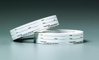 3M FSPT-1 Foodservice Printed label Tape, 24-mm x 55-mm