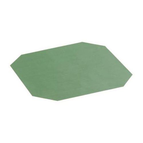 "Merrychef 32Z4096 11.2"" Solid Cook Plate Liner for eikon™ e2s Series Ovens - Solid, Green"