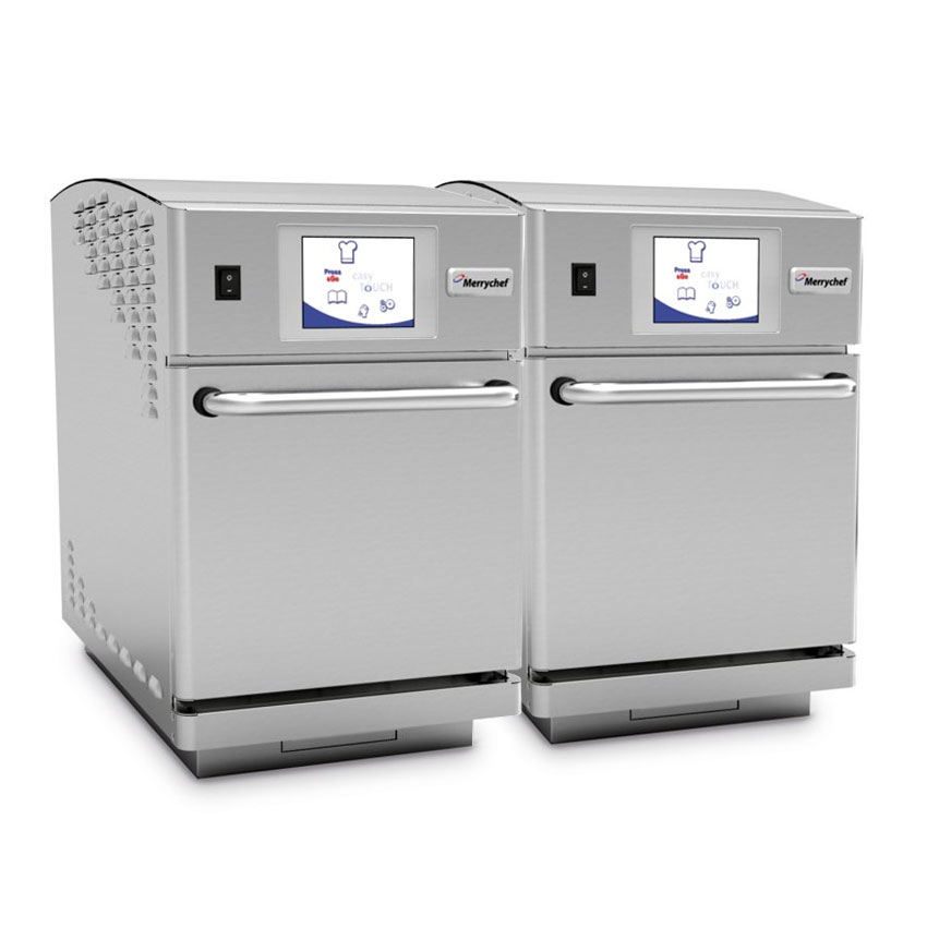 Merrychef E2T High Speed Countertop Convection Oven, Twin Set, 208/240/1ph